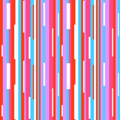 Stripe pattern. Multicolored background. Seamless abstract texture with many lines. Geometric colorful wallpaper with stripes. Print for flyers, shirts and textiles. Pretty backdrop. Doodle for design