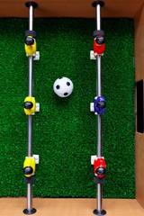 table football soccer kicker game players