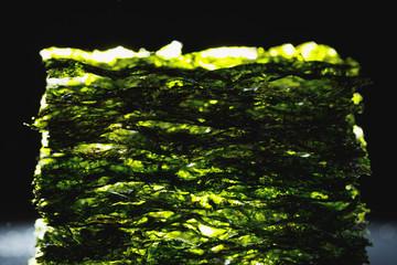 dried nori seaweed laminaria sheets
