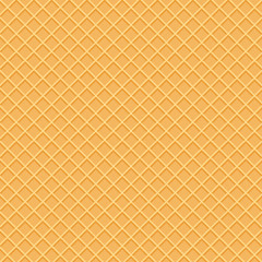 Wafer pattern in top view. Beautiful wafer pattern.