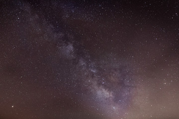Via Láctea, una noche del mes de mayo