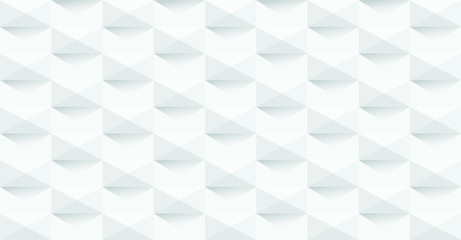 white and grey abstract background texture - vector paper 3d effect - wallpaper for website