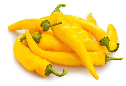 yellow chilli pepper