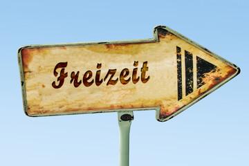 Schild 328 - Freizeit
