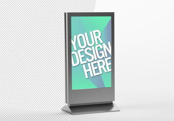 Advertisement Stand Mockup
