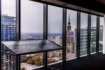 Panorama miasta Warszawa