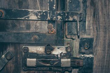 ancient metal lock