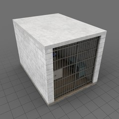 Empty jail cell 2