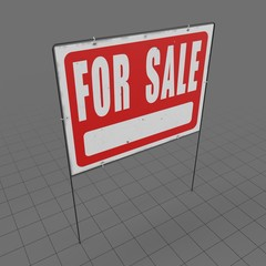 For sale sign 3