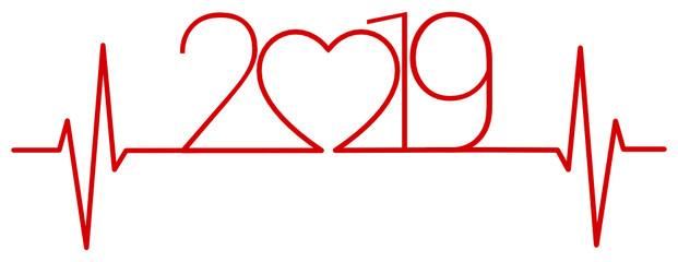 2019 - electro cardiogramme