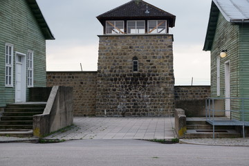 Inside Mauthausen concentration camp