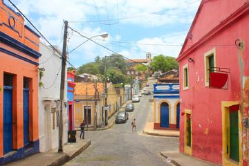 Quatro Cantos, famous corner in Olinda, Pernambuco