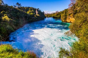 Buzzing Huka Falls
