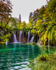 The magic country of Plitvice Lakes