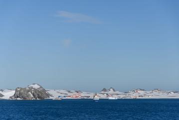 Papiers peints Antarctique Bellingshausen Russian Antarctic research station