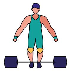 muscle man design