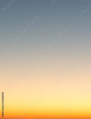 Concept Of Summer Holidays Abstract Blur Sunset Gradient Sky