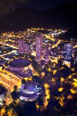 Bogota Centro Internacional de noche