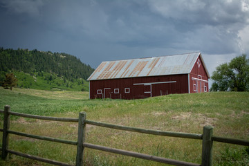 Red Barn Tin Roof