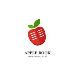 Apple Book logo icon simple symbol design