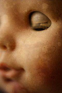 Creepy Doll Closeup