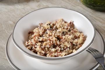Quinoa and rice blend
