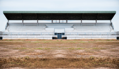 Poster de jardin Stade de football Empty grandstand for sports cheer