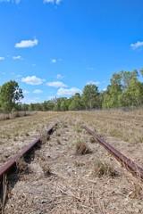 Old Railway In Gayndah, Queensland, Australia