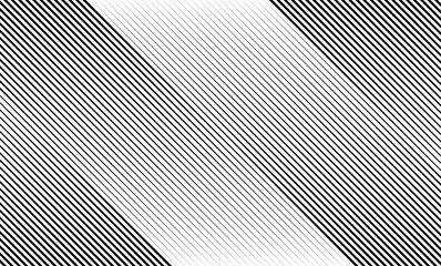 Vector Illustration of the pattern of black lines on white abstract background. EPS10.
