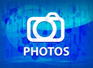 Photos (camera icon) midnight blue prime background