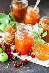 Keuken foto achterwand Keuken fruit jam