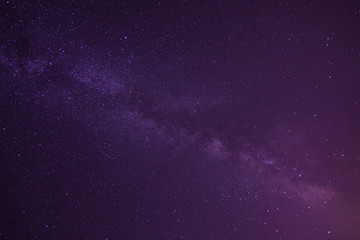 Stars of Milky Way Galaxy. Space background.