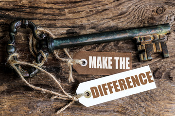 labels key : Make the difference