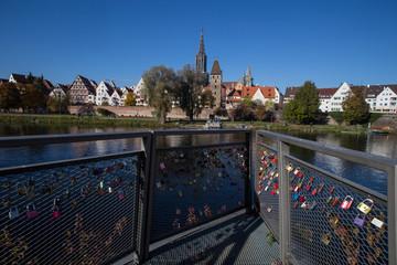 Blick von Neu-Ulm auf Ulm