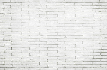 White and grey brick wall texture background. Pattern of slate stone for design art work.