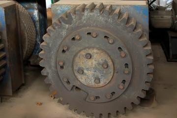 Oxidation rusty metal parts