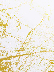 Golden marble imitation cover background. Abstract backdrop with old rock, stone texture.