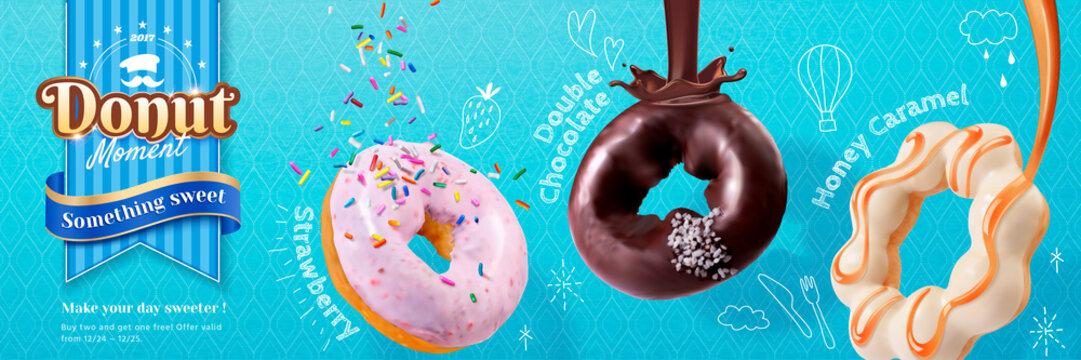 Donut banner ads