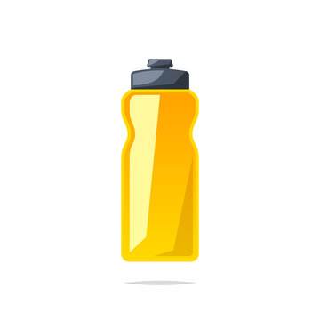 Sport water bottle vector isolated