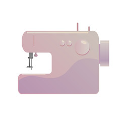 Sewing machine vector illustration