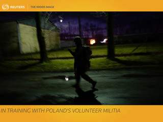 The Wider Image: In training with Poland's volunteer militia