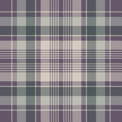 Check plaid pixel fabric texture seamless pattern