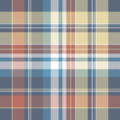 Pixel check plaid seamless fabric texture