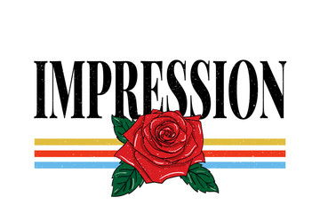 slogan Impression phrase graphic vector Print Fashion lettering calligraphy