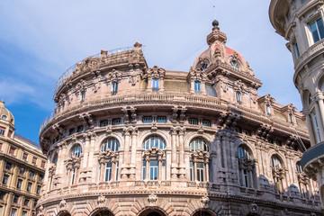 Bank building in Piazza De Ferrari