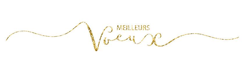 """Bannière """" MEILLEURS VOEUX """""""
