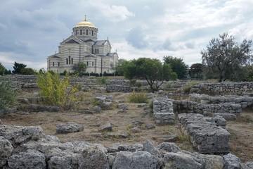 Chersonese. Ancient ruins
