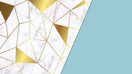 Marble with luxury texture background ฺฺBrand colors through palette vector illustration
