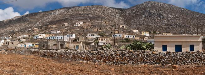 Village Awlona on Karpathos in Greece
