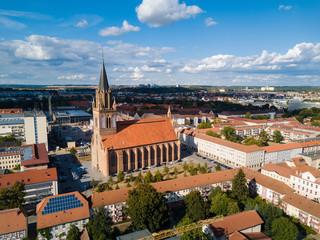 Die Konzertkirche in Neubrandenburg